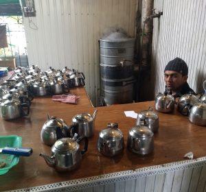 Tee-Verkäufer