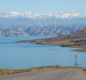 Weltklasse Panorama am Toktogul See