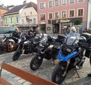 Auf dem Marktplatz in Zwettl