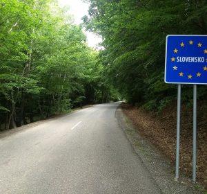 An der Grenze zur Slowakei
