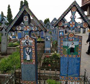 """Fröhlichen Friedhof"" in Sapanta"