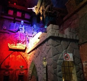 In der Dracula-Geisterbahn