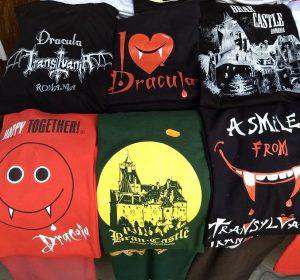 Graf Dracula allgegenwärtig