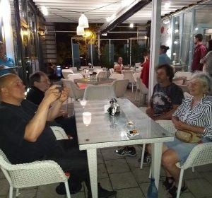 Dinner am Hafen