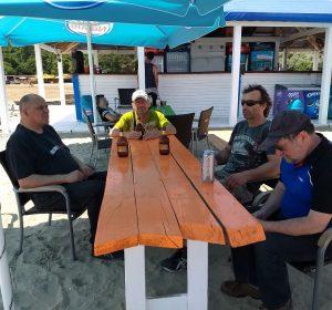 Bierchen am Strand