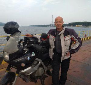 Auf der Donaufähre zw. Rumänien und Bulgarien