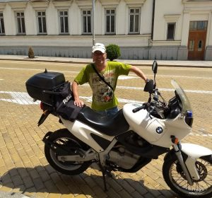 Meine BMW F650 als Polizeimotorrad