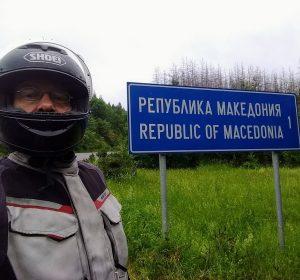 An der mazedonischen Grenze