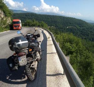 In den mazedonischen Bergen