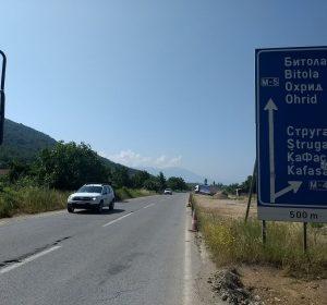 Richtung Ohrid-See