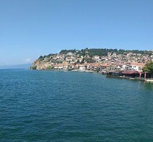 Am Ohrid-See in Mazedonien