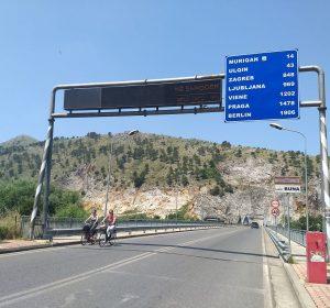 In Albanien unweit zu Montenegro