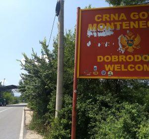 Grenze Albanien - Montenegro