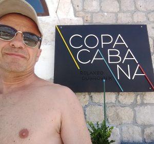 Copacabana Beach in Dubrovnik