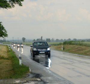 Gewitter hinter Bratislava