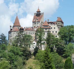 """Draculas """"Törzburg"""" in Bran"""