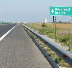 Auf der A2 Richtung Bukarest
