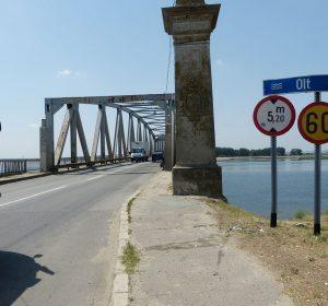 Auf der Nationalstraße DN65 Richtung Craiova
