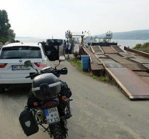 Fähre über die Donau nach Bulgarien