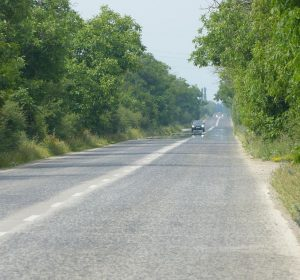 Nationalstraße in Bulgarien