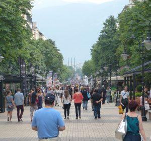 Boulevard in Sofia