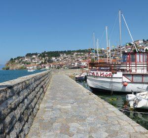 Am Ohrid-See