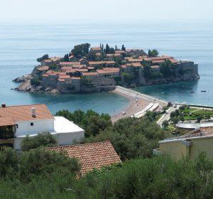 Inselstadt in Montenegro