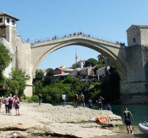 """Stari Most"" - die berühmte Brücke in Mostar"