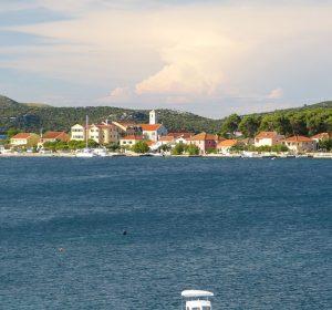Badeort Sibenik in Kroatien