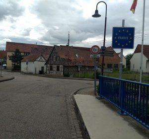 Scheibenhard: halb deutsch, halb französisch