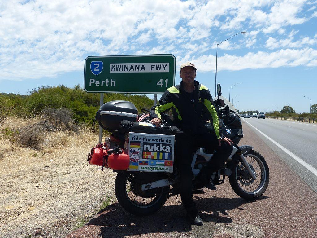 World-Tour 2019 – Gefahrene Route in Australien