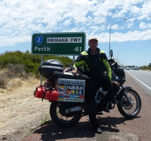 World-Tour 2019 – Gefahrene Route in Australien